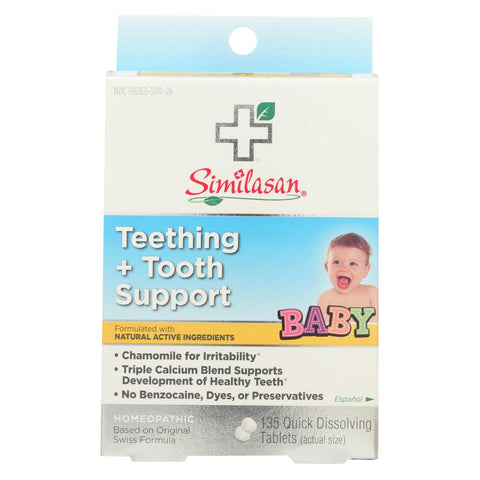 Similasan Baby Teething And Tooth Support - 135 Tablets