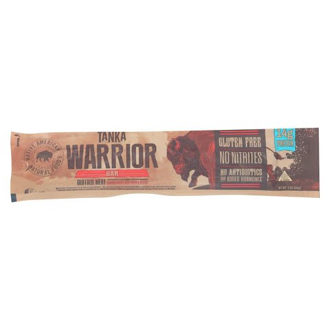 Tanka Bar Onnit Warrior Bar - 2 Oz - Case Of 12