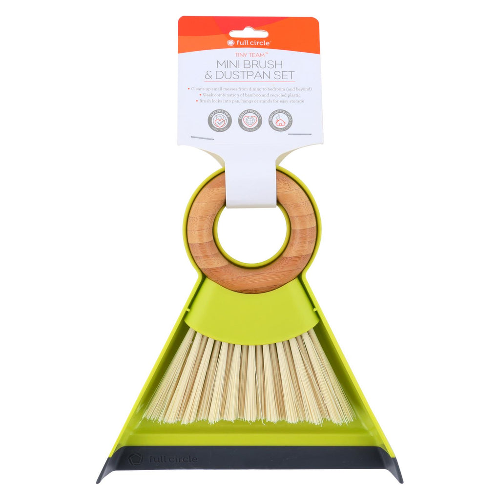 Full Circle Home Dustpan And Brush Set - Mini - Tiny Team - 1 Set - The Green Life