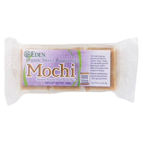 Eden Foods Mochi - Sweet Brwn Rice - 10.5 Oz