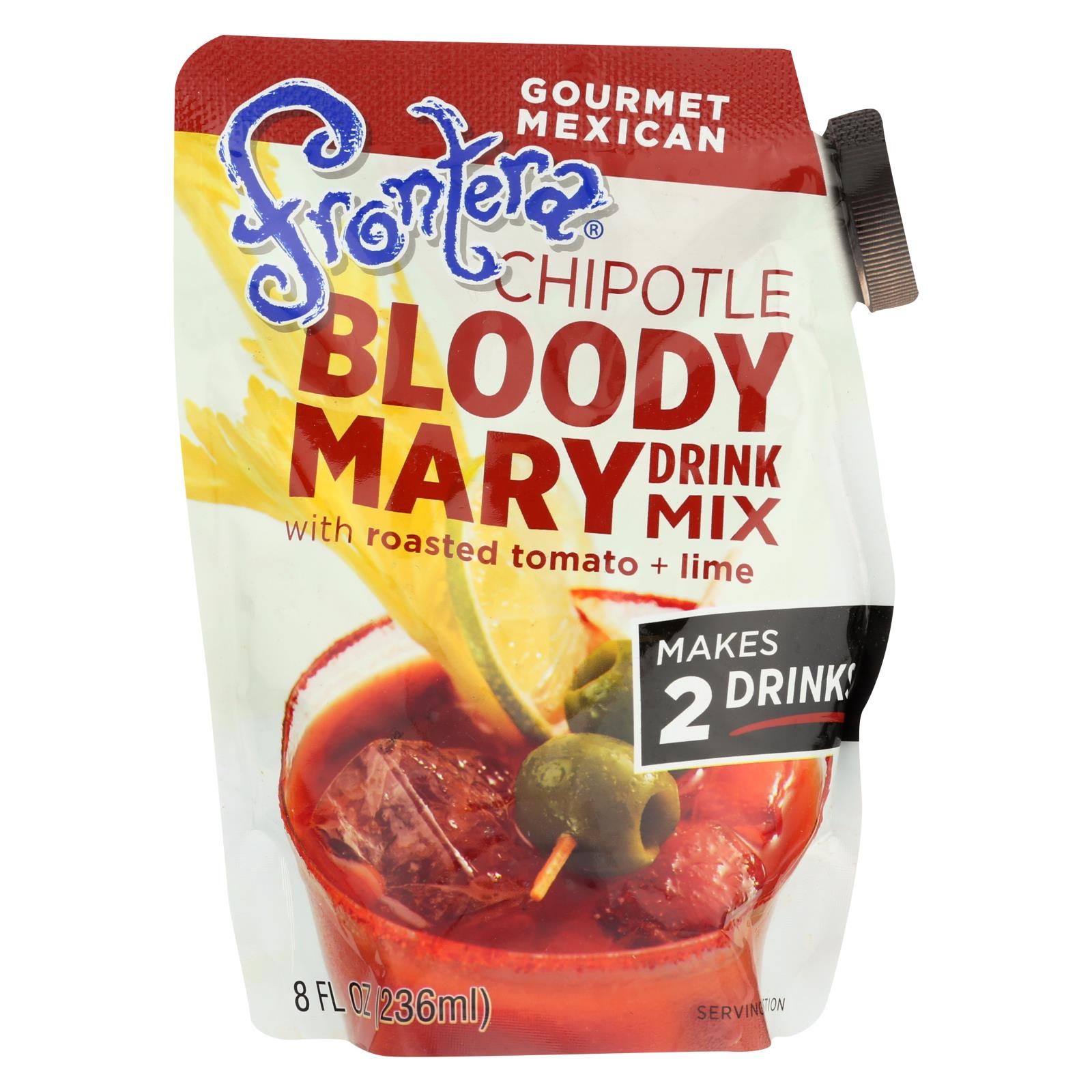 Frontera Foods Spicy Bloody Mary - Bloody Mary - Case Of 6 - 8 Oz. HG1824937