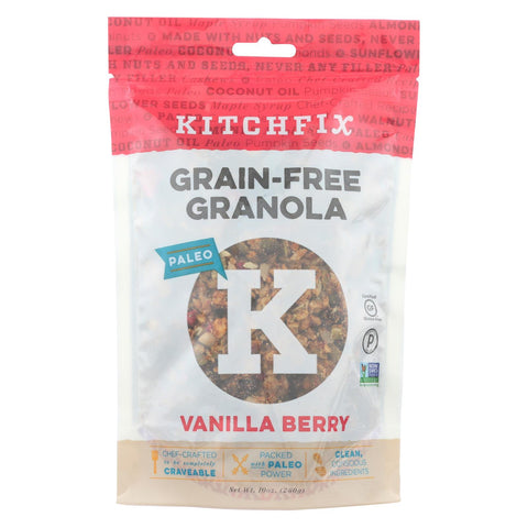 Kitchfix Granola - Vanilla Berry - Case Of 6 - 10 Oz