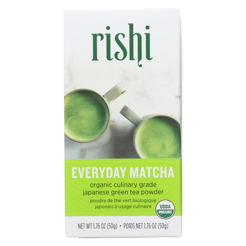 Rishi Tea - Everyday Matcha Powder - Case Of 6 - 1.76 Oz