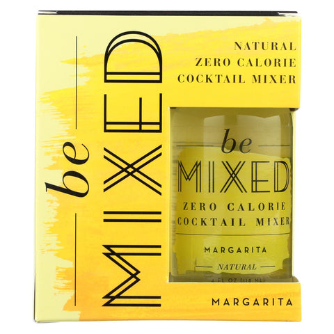 Be Mixed - Cocktail Mix - Margarita - Case Of 3 - 4-4 Fl Oz.