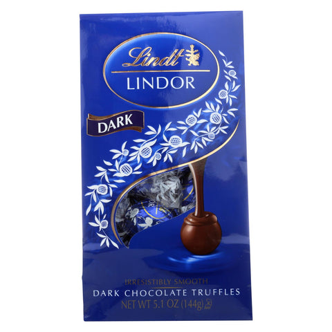 Lindt - Truffles Dark Chocolate Bag - Case Of 6-5.1 Oz