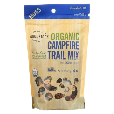 Woodstock Organic Kumbaya Campfire Snack Mix - Case Of 8 - 10 Oz.