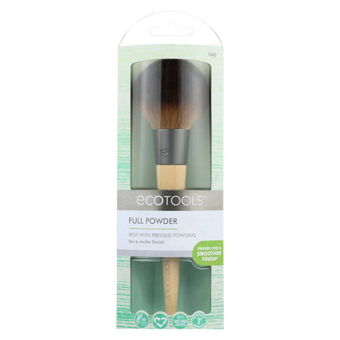 Eco Tool Makeup Brush - Full Powder - Case Of 2 - 1 Count