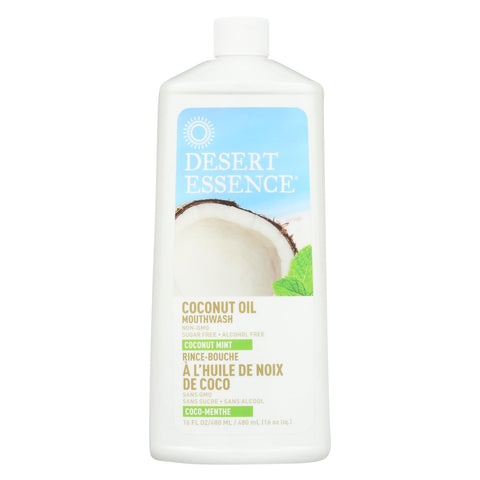 Desert Essence - Coconut Oil Mouthwash - Coconut Mint - 16 Fl Oz