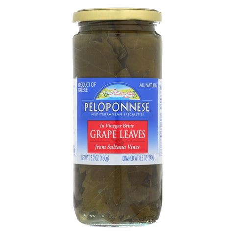 Peloponese Grape Leaves - Case Of 6 - 8.5 Oz