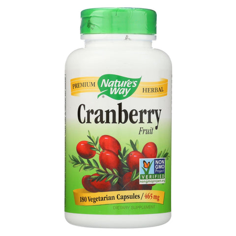 Nature's Way - Cranberry Fruit - 180 Vcap