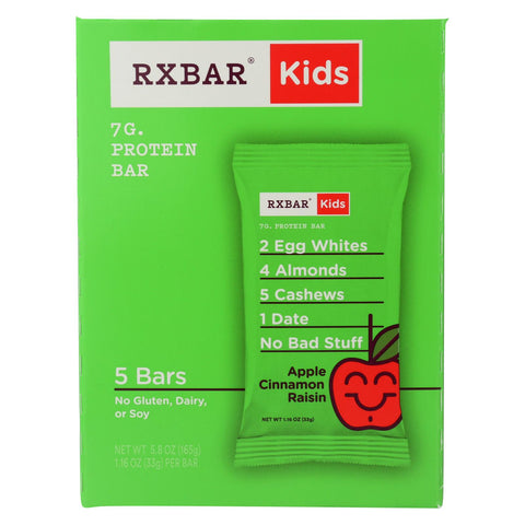 Rxbar - Kids Protein Bar - Apple Cinnamon - Case Of 6 - 5-1.16 Oz.