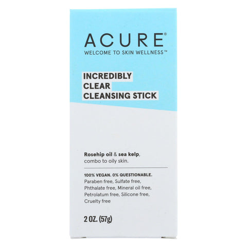Acure Stick - Cleansing - Clear - 2 Oz