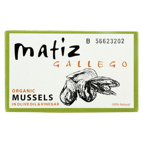 Matiz Mussels - Olive Oil & Vinegar - Case Of 12 - 3.9 Oz