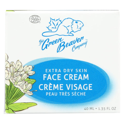 Green Beaver,the Extra Dry Skin Face Cream - 1.35 Fl Oz.