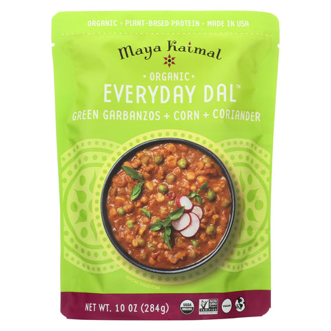 Maya Kaimal - Organic Everyday Dal - Green Garbanzo Corn Coriander - Cs Of 6 -10 Oz