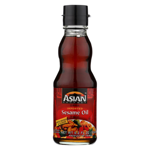 Asian Gourmet Sesame Oil - Case Of 6 - 6.2 Fl Oz