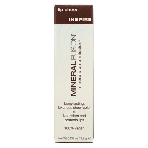 Mineral Fusion - Lip Sheer - Inspire - 0.137 Oz.