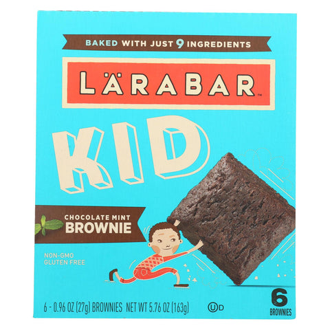Larabar - Bar Kids Chocolate Mint Brownie - Case Of 8-6-.96 Oz