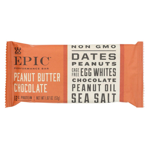 Epic - Bar Performance Peanut Butter Chocolate - Ea Of 9-1.87 Oz