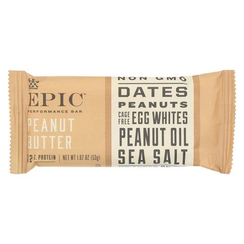 Epic - Bar Performance Peanut Butter - Ea Of 9-1.87 Oz