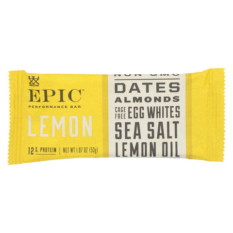 Epic - Bar Performance Lemon - Ea Of 9-1.87 Oz