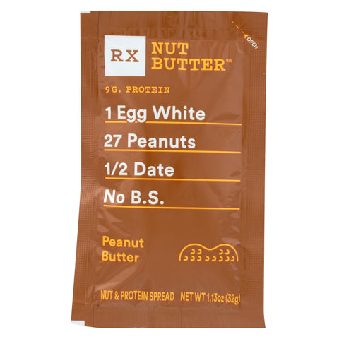 Rxbar - Nut Butter - Peanut Butter - Case Of 10 - 1.13 Oz.