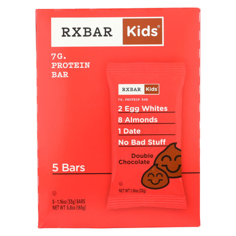 Rxbar - Kids Protein Bar - Double Chocolate - Case Of 6 - 5-1.16 Oz.