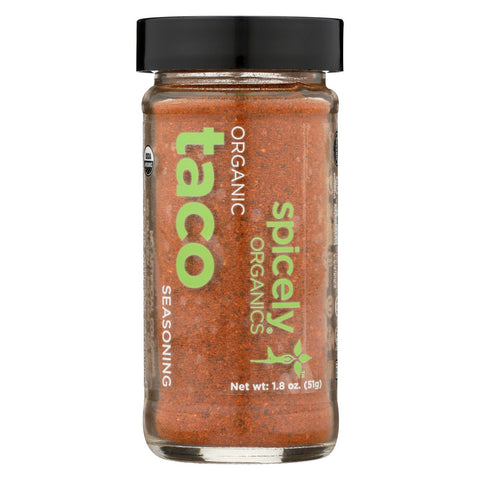 Spicely Organics - Organic Taco Seasoning - Case Of 3 - 1.8 Oz.