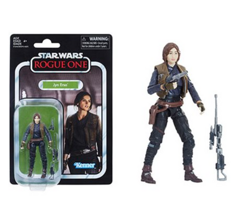 Vintage Collection Jyn Erso (Order Ships 5/1-5/4)