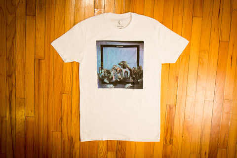 Outsiders Album Cover Tee White