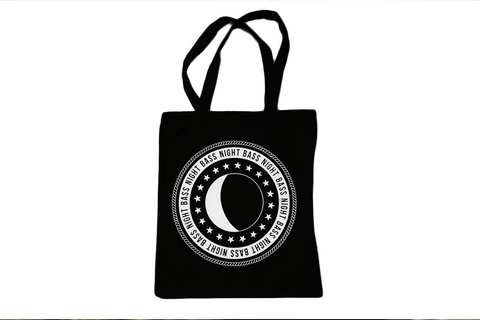 Night Bass Tote Bag