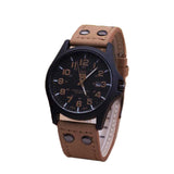 Genuine Leather Wristwatch