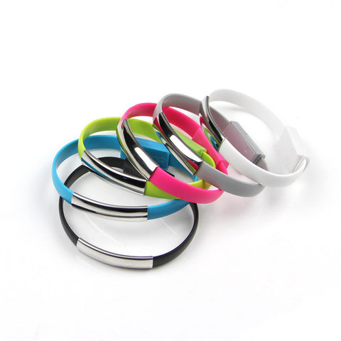 USB Charger Phone Cable Bracelet