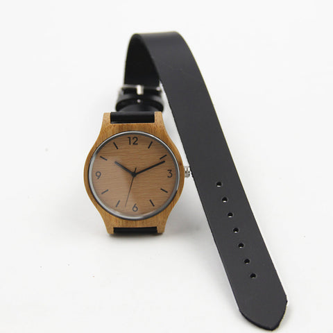 Natural Wooden Retro Watch