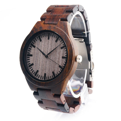 Classic Wood Watch