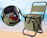 Beach Chair with Cooler Bag