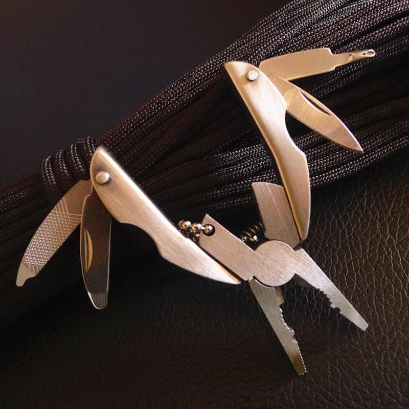 Stainless Steel Multifunction Folding Pliers
