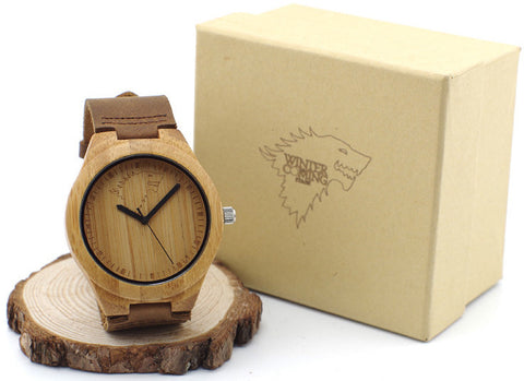 Wooden Game of Thrones Watch