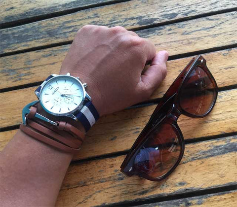 (Free on us!) Watch-Bracelet-Sunglasses Combo