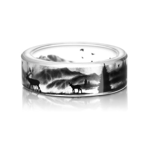 Unique 3D Ring - Nature