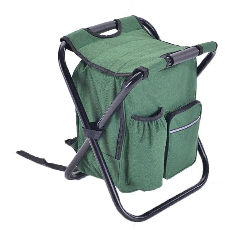 Multi-Function Foldable Backpack/Cooler & Chair