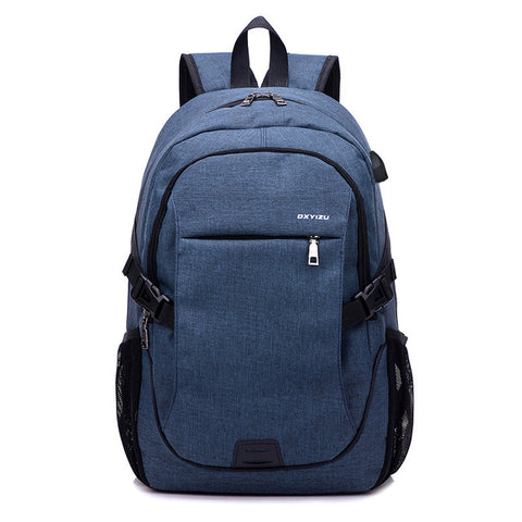 Large Capacity USB Charging Backpack