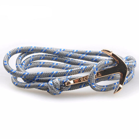 Anchor Rope Bracelets