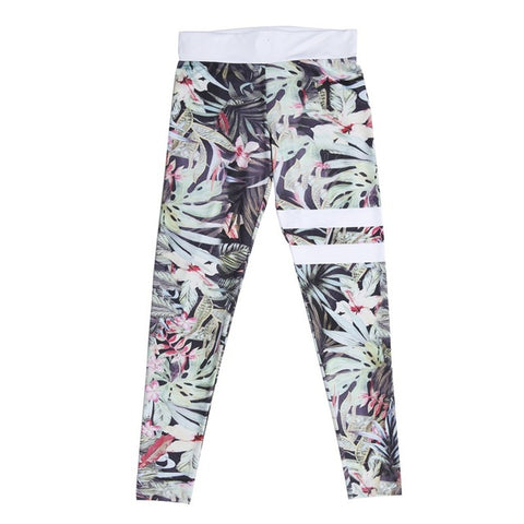 FLOWER -  High Waist Leggings