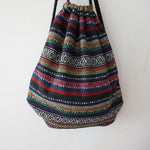 Women Bohemian Cotton Backpack