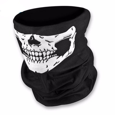 Warm Outdoor Headscarf Skull Mask
