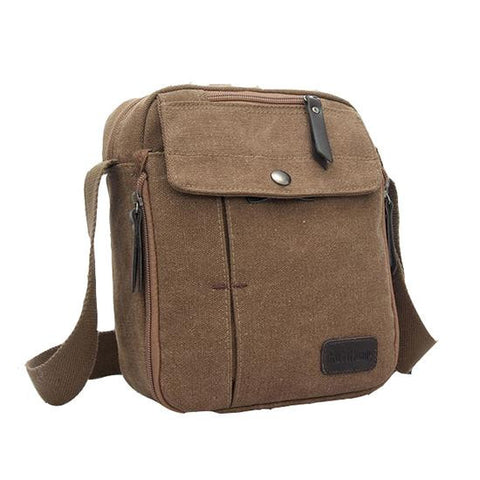 Vintage Canvas Messenger Bag
