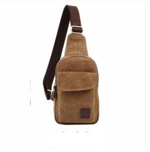 Canvas Shoulder Backpack