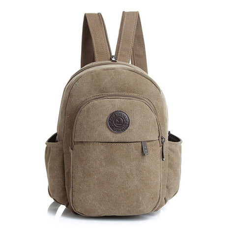 Women'sCanvas Mini Backpack.