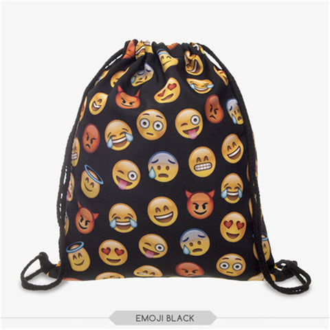 Women's Funky Drawstring Bag